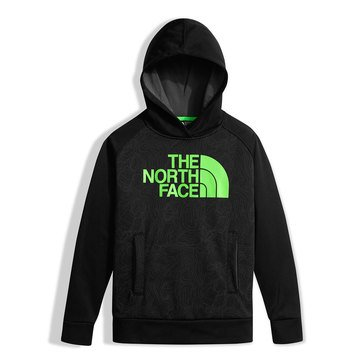 The North Face Big Boys' Surgent  Full Zip Hoodie, Black