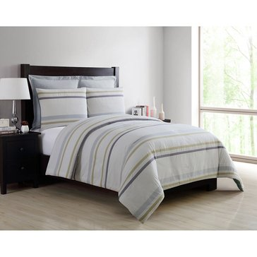 Harbor Home Platinum Collection 5-Piece Comforter Set, Oliver White - King