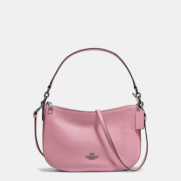 Coach Pebble Chelsea Crossbody Dusty Rose