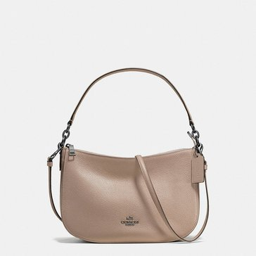 Coach Pebble Chelsea Crossbody Stone