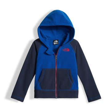 The North Face Toddler Boys' Glacier Full Zip Hoodie, Bright Cobalt