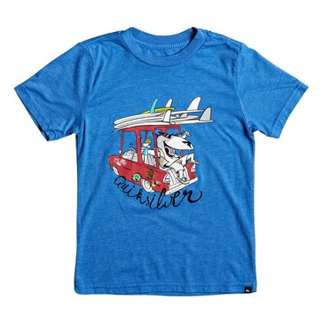 Quiksilver' Little Boys' Doggy Dayz Tee, Turkish Sea