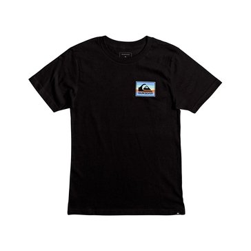 Quiksilver' Little Boys' Box Spray Tee, Black