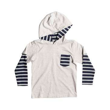 Quiksilver' Little Boys' Gerik Hoodie, Light Grey