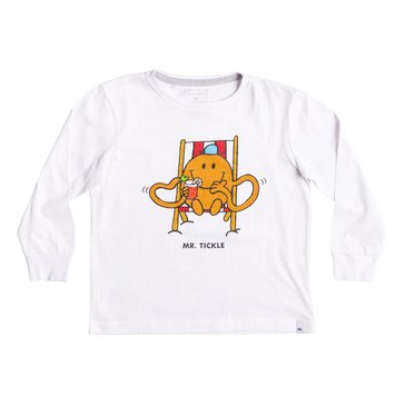 Quiksilver Little Boys' Mr. Tickle Tee, White