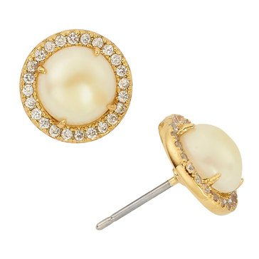 Kate Spade 'Bright Ideas' Pave Halo Stud Earrings, Clear