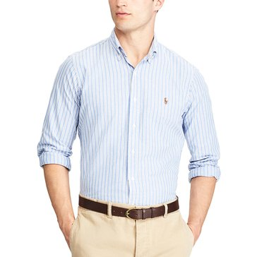 Polo Ralph Lauren Standard Fit Multi-Striped Oxford Shirt