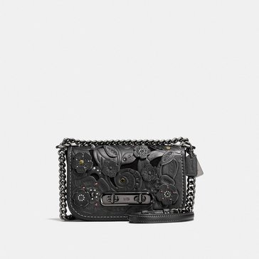 Web Exclusive! Coach Tea Rose Tooling Applique Refresh Web Exclusive! Coach Swagger 20 Satchel Black