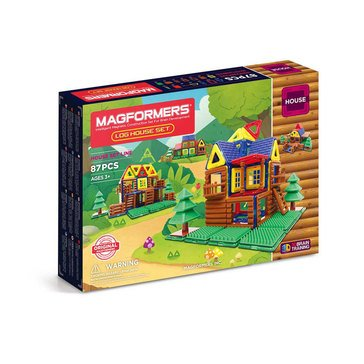 Magformers Log Cabin 87 Piece