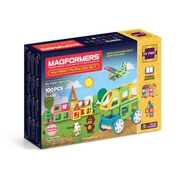 Magformers My First Play 100-Piece Set