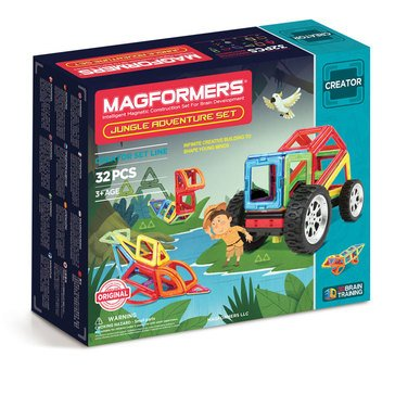 Magformers Jungle Adventure 32-Piece Set