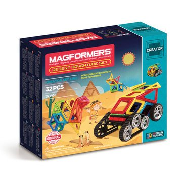 Magformers Desert Adventure 32-Piece Set