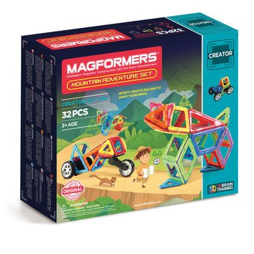 Magformers Mountain Adventure 32-Piece Set