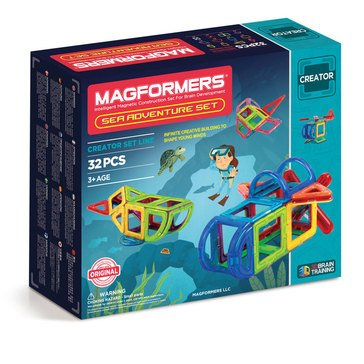 Magformers Sea Adventure 32-Piece Set