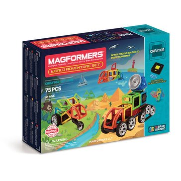 Magformers World Adventure 76-Piece Set