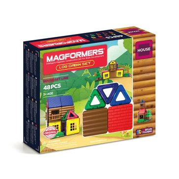 Magformers Log Cabin 48-Piece Set