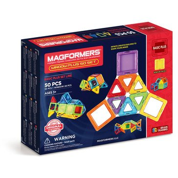 Magformers Window Plus 50-Piece Set