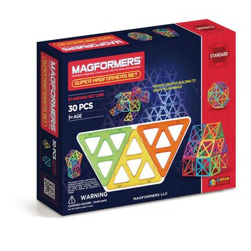 Magformers Super Magformers 30-Piece Set