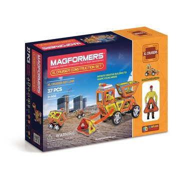 Magformers XL Cruisers Construction 37-Piece Set