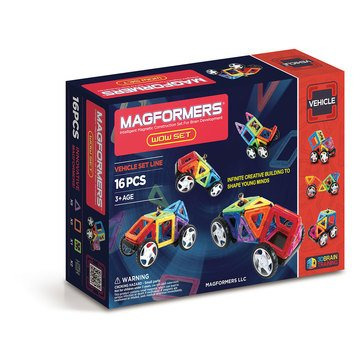 Magformers Wow 16-Piece Set