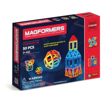 Magformers Rainbow 50-Piece Set