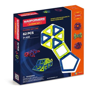 Magformers Classic 62-Piece Set