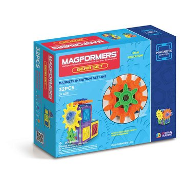 Magformers Magnets in Motion 32-Piece Set