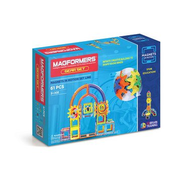 Magformers Magnets in Motion 61-Piece Set