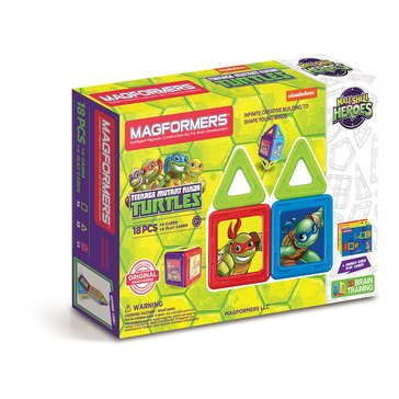 Magformers Teenage Mutant Ninja Turtles 18-Piece Set