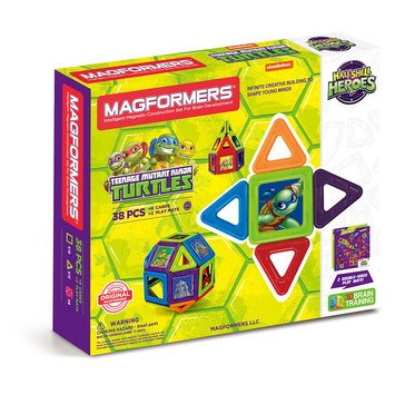 Magformers Teenage Mutant Ninja Turtles 38-Piece Set