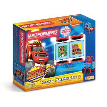 Magformers Blaze Monster Machines 35-Piece Set