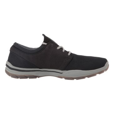 Skechers Elment VentonMen's Canvas Sneaker Black
