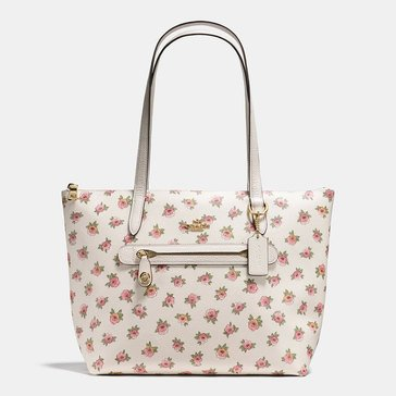 Coach Flower Patch PVC Taylor Tote Flower Patch