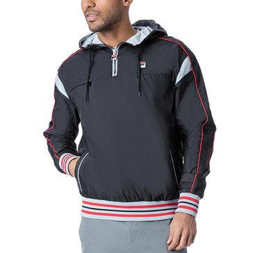 Fila Heritage Mecalle 1/2 Zip Windbreaker - Black