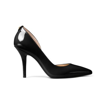 Michael Kors Nathalie Flex Women's High Heel Pump Patent Leather Black