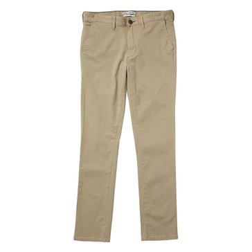 Billabong Men's New Order Dark Khaki Chino Pant
