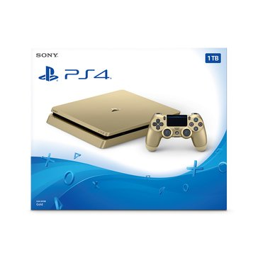PS4 Limited Edition 1TB Gold