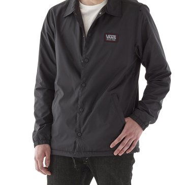 Vans Men's Level Bar Nylon Coach Jacket