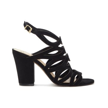 Vince Camuto Norla Women's Caged Block High Heel Sandal Black
