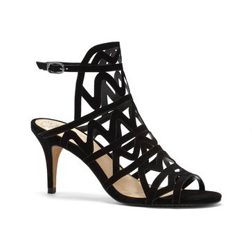 Vince Camuto Prisintha Women's High Heel Caged Sandal Black