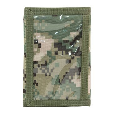 Mercury Tactical Gear Tri-Fold Wallet - Type III Green