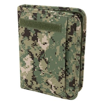 Mercury Tactical Gear Large Zippered Planner - Type III Green
