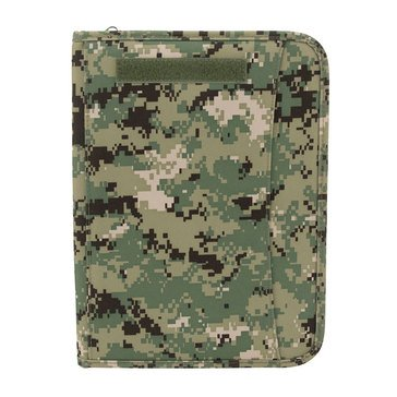 Mercury Tactical Gear Zippered Type III Digi Green Padfolio