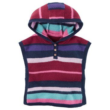 Carter's Baby Girls' Striped Poncho