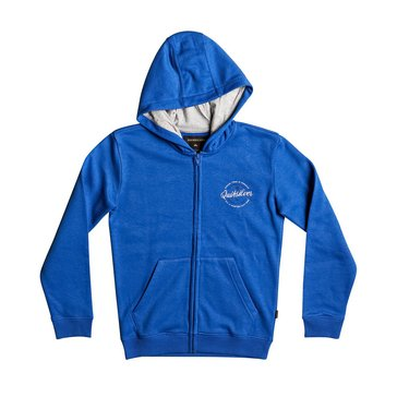 Quiksilver Big Boys' Jumja Zip Hoodie, Turkish Sea