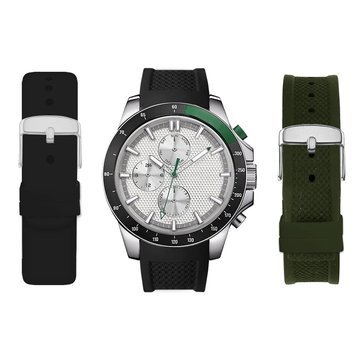 American Exchange Men's Interchangeable Watch Set, Olive/ Black