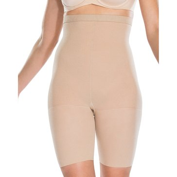 Red Hot by Spanx Packaged High Waist Mid-Thigh Shaper Nude