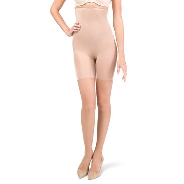 Red Hot by Spanx High Waist Shaping Pantyhose Nude