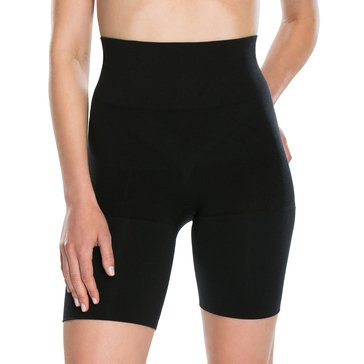 Red Hot by Spanx Flat Out Flawless Mid-Thigh Short Black