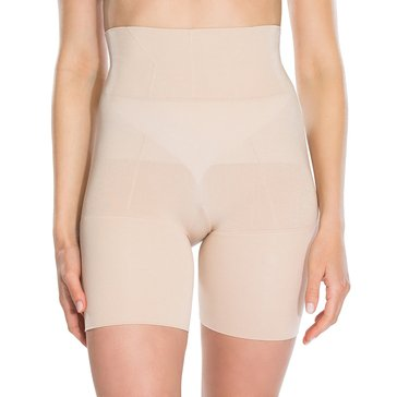 Red Hot by Spanx Flat Out Flawless Mid-Thigh Short Nude
